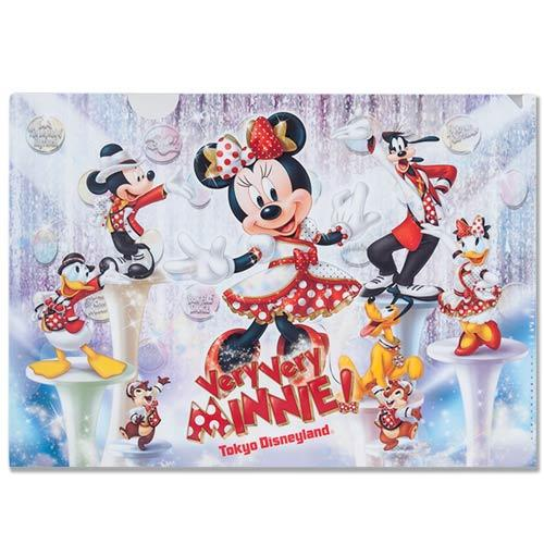 TDR - Very Very MINNIE! - Clear Folder