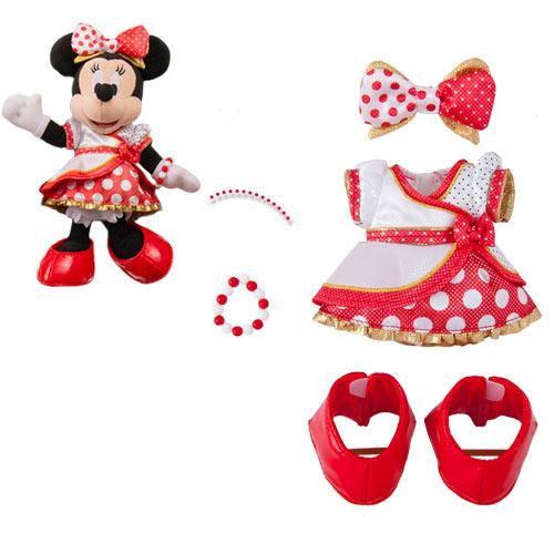 TDR - Very Very MINNIE! - Pozy Plush Toy Costume x Very Very Minnie!