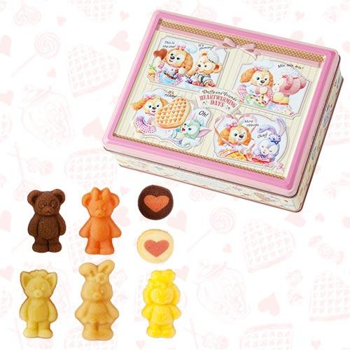 TDR - Duffy & Friends' Heartwarming Days 2020 - Assorted Chocolates Box (Square Shaped)