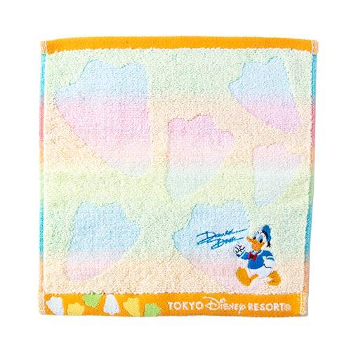 TDR - Mini Towel x Donald Duck with Foot Print