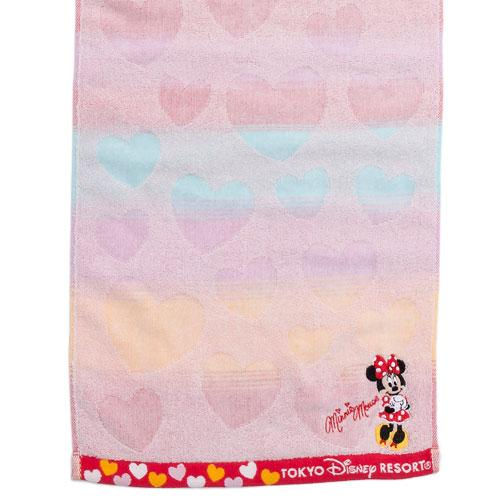 TDR - Face Towel x Minnie Mouse with Heart Print