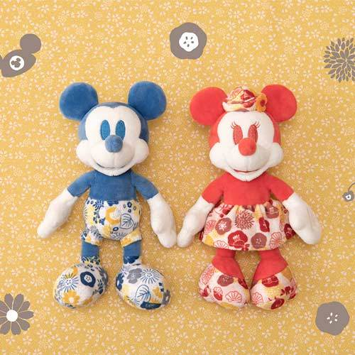 "TDR - ""Four Seasons at Tokyo Disney Resort Collection"" - Plush Keychain x Mickey Mouse"