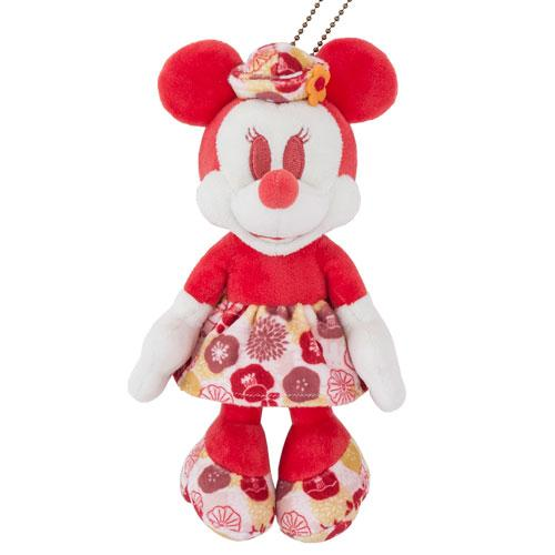 "TDR - ""Four Seasons at Tokyo Disney Resort Collection"" - Plush Keychain x Minnie Mouse"