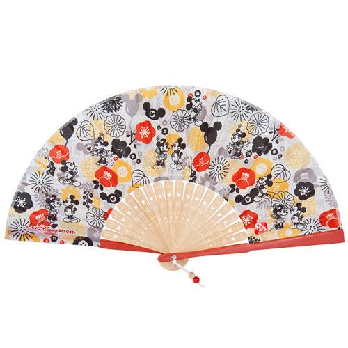 "TDR - ""Four Seasons at Tokyo Disney Resort Collection"" - Folding Fan"