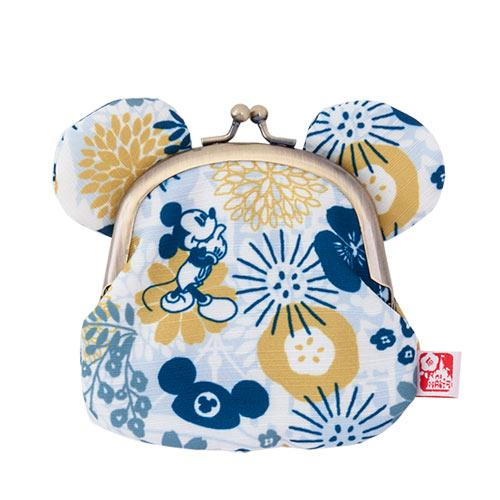 "TDR - ""Four Seasons at Tokyo Disney Resort Collection"" - Coin Pouch x Mickey Mouse"