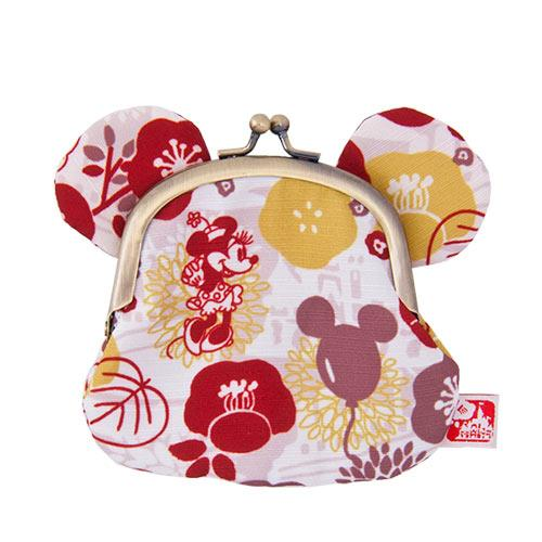 "TDR - ""Four Seasons at Tokyo Disney Resort Collection"" - Coin Pouch x Minnie Mouse"