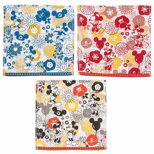 "TDR - ""Four Seasons at Tokyo Disney Resort Collection"" - Mini Towels Set"