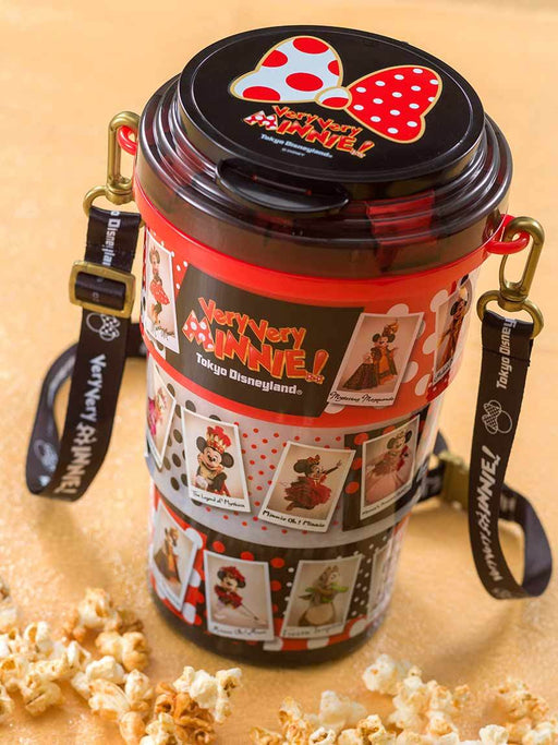 TDR - Very Very MINNIE! - Popcorn Bucket with Long Strap