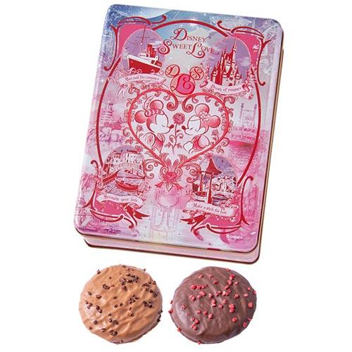 TDR - Disney Sweet Love - Chocolate Covered Cookies Box (Pink)