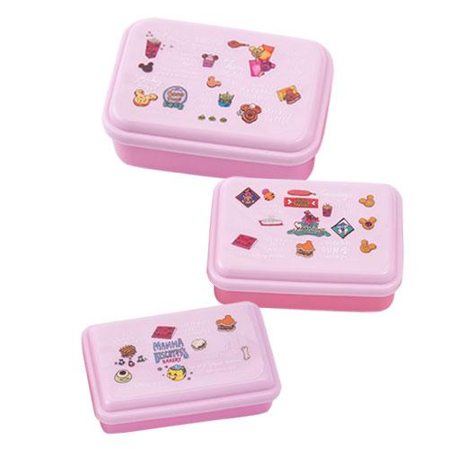 TDR - Food Theme x Pink Collection - Containers Set