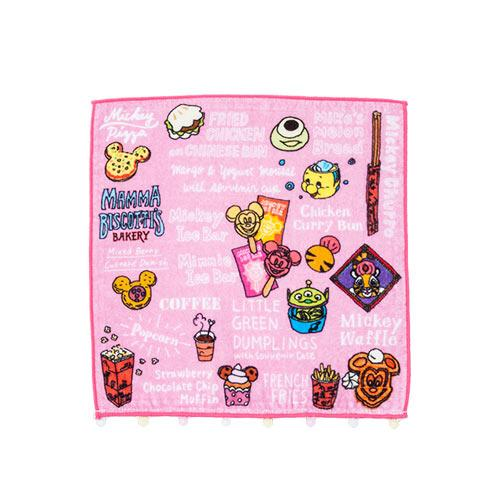 TDR - Food Theme x Pink Collection - Mini Towel