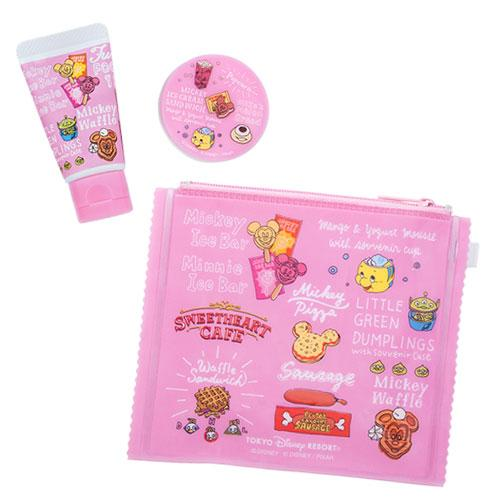 TDR - Food Theme x Pink Collection - Hand Cream and Lip Balm Set