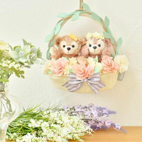 TDR - Duffy & Friends Spring in Bloom - Duffy & ShellieMay Plush Set