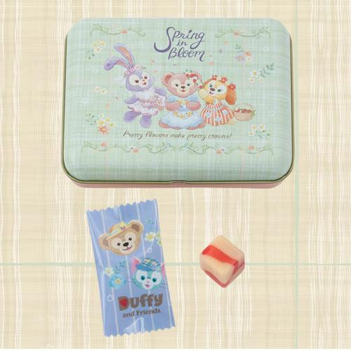 TDR - Duffy & Friends Spring in Bloom - Candy Box Set (Strawberry milk flavor)