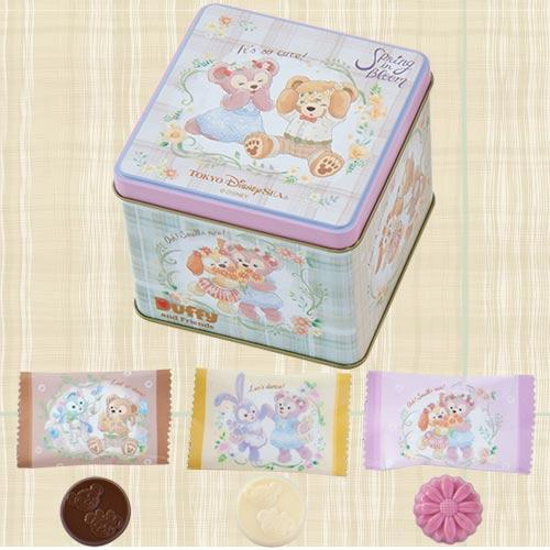 TDR - Duffy & Friends Spring in Bloom - Chocolate Box Set