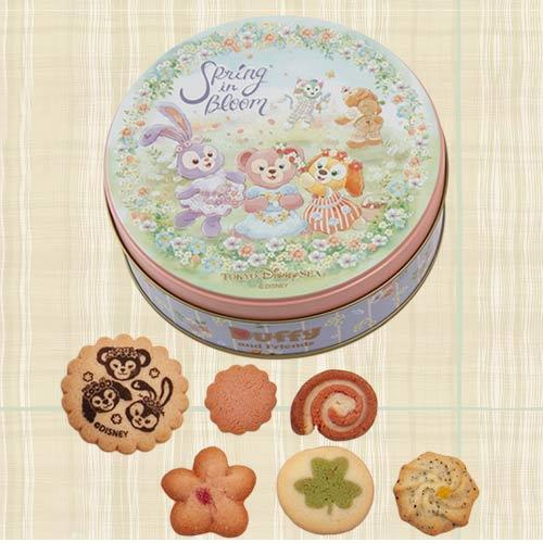 TDR - Duffy & Friends Spring in Bloom - Assorted Cookies Box Set