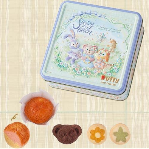 TDR - Duffy & Friends Spring in Bloom - Assorted Cookies & Candies Box Set