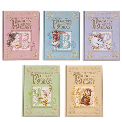 TDR - Enchanted Tale of Beauty and the Beast Collection - Memo Pads Set