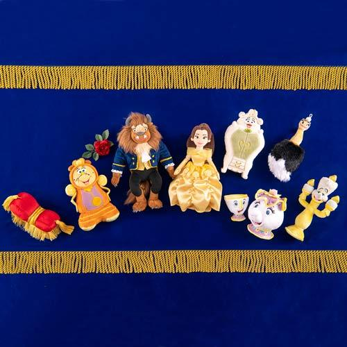 TDR - Beauty and the Beast Magical Story Collection - Plush Toy Keychain x Sultan
