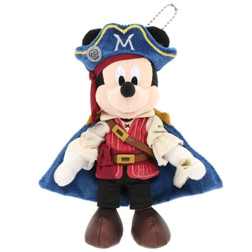 "TDR - ""Disney Pirates Summer 2020"" Collection - Plush Toy & Badge - Mickey Mouse"