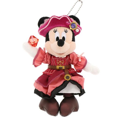"TDR - ""Disney Pirates Summer 2020"" Collection - Plush Toy & Badge - Minnie Mouse"