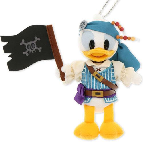 "TDR - ""Disney Pirates Summer 2020"" Collection - Plush Toy & Badge - Donald Duck"