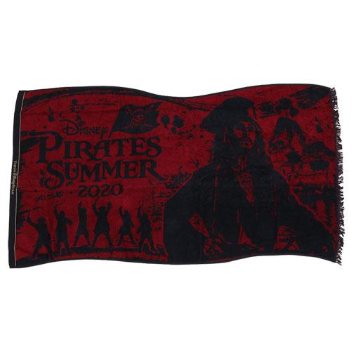 "TDR - ""Disney Pirates Summer 2020"" Collection - Pirate Bath Towel"