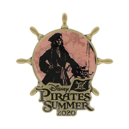 "TDR - ""Disney Pirates Summer 2020"" Collection - Pin"