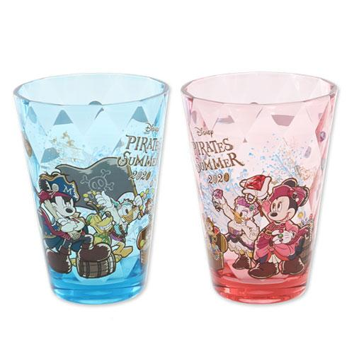 "TDR - ""Disney Pirates Summer 2020"" Collection - Plastic Tumblers Set"