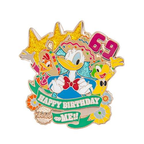 "TDR - ""Donald Duck Happy Birthday to ME 2020"" Collection - Pin"