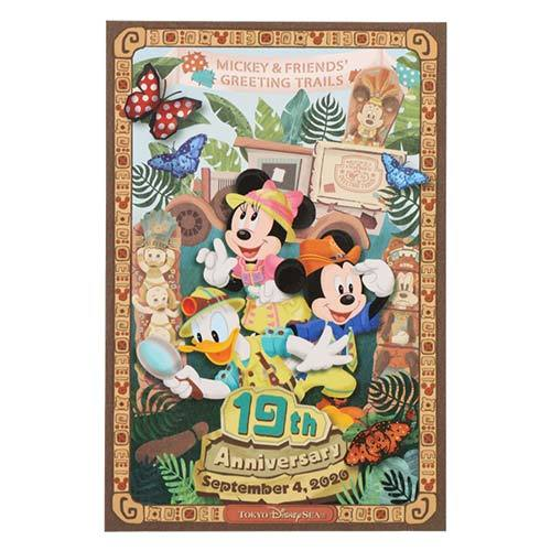 "TDR - ""Tokyo Disney Sea 19th Anniversary Collection"" - Post Card"