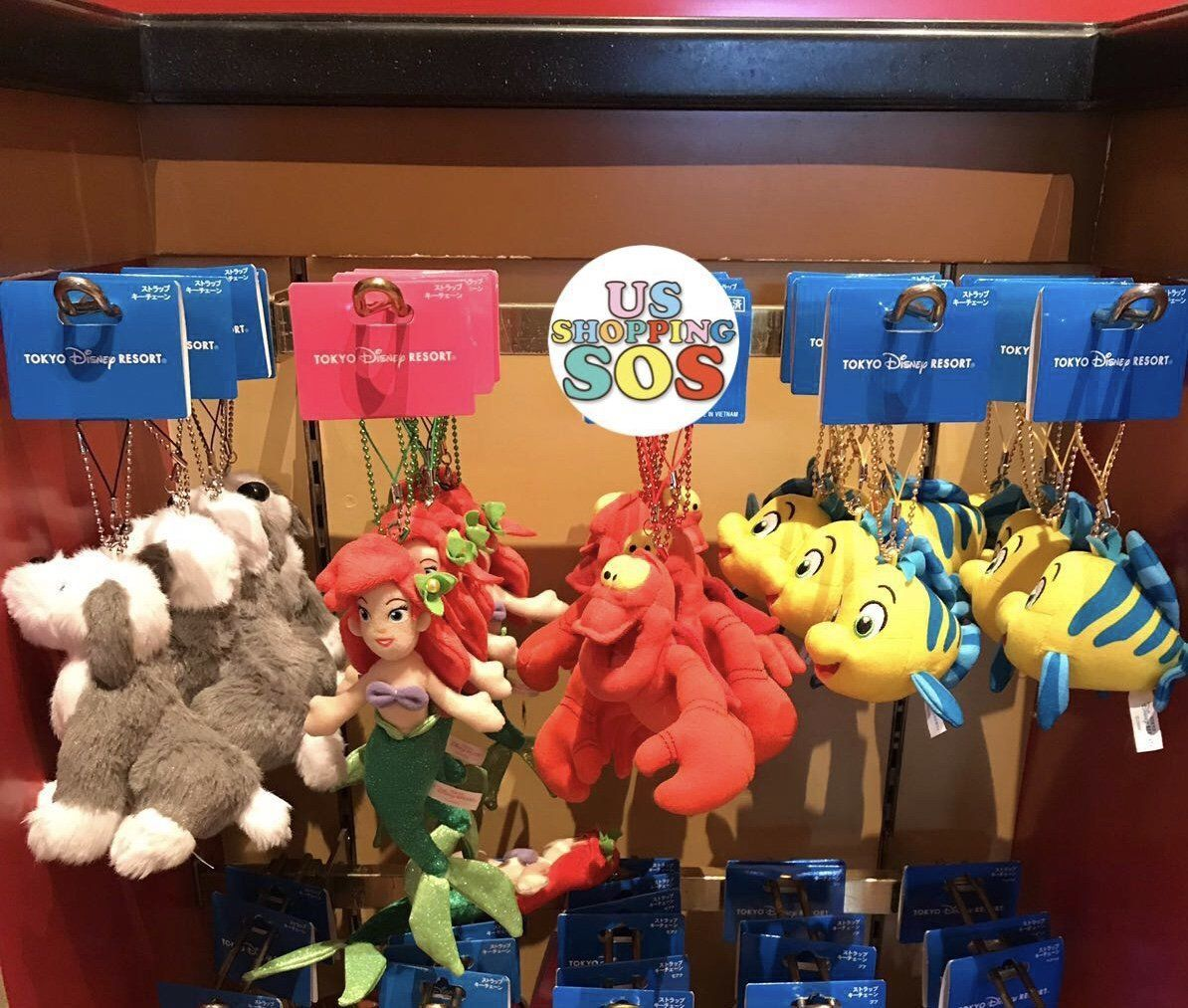 TDR - Plush Keychain from The Little Mermaid