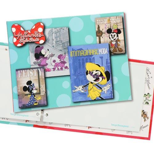 TDR - Minnie's Style Studio Collection - Signature Book