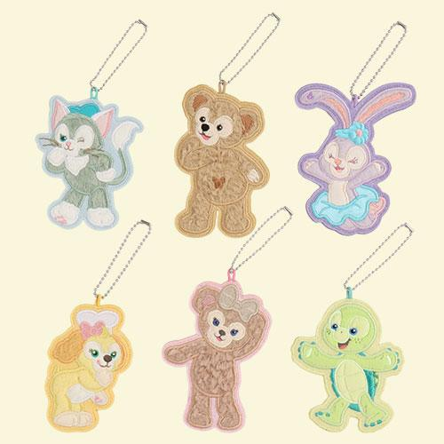 "TDR - Duffy & Friends ""Say Cheese!"" - Fluffy Embroidery Badges Set"
