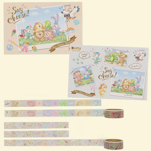 "TDR - Duffy & Friends ""Say Cheese!"" - Post Card & Masking Tapes Set"