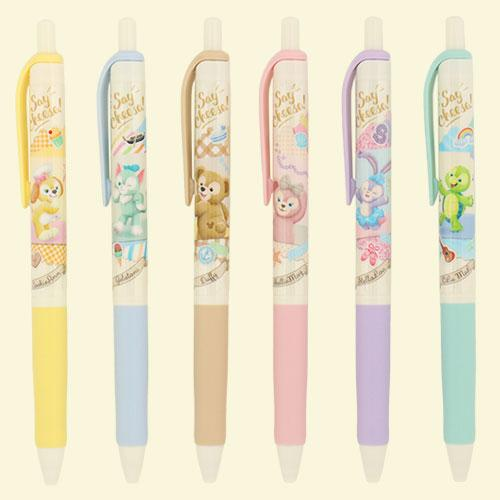"TDR - Duffy & Friends ""Say Cheese!"" - Ballpoint Pens Set"