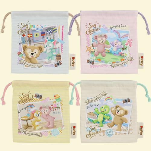 "TDR - Duffy & Friends ""Say Cheese!"" - Drawstring Bags Set"