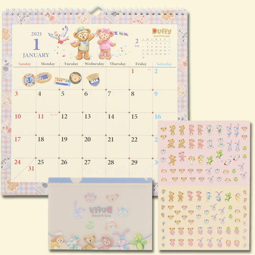 TDR - Duffy & Friends Wall Calendar 2021