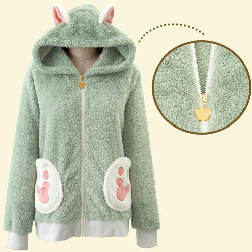 TDR - Duffy & Friends - Fluffy Zip Hoodie x Gelatoni