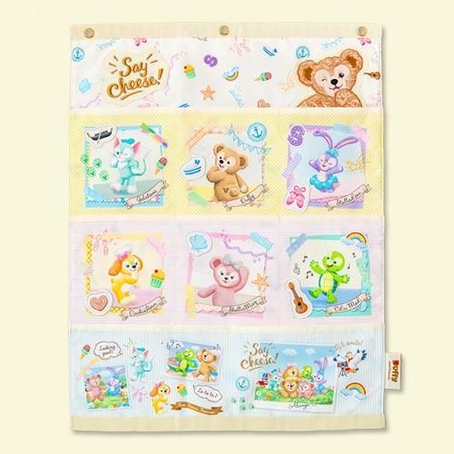 "TDR - Duffy & Friends ""Say Cheese!"" - Soft Fabric Hanging Storage Organizer"