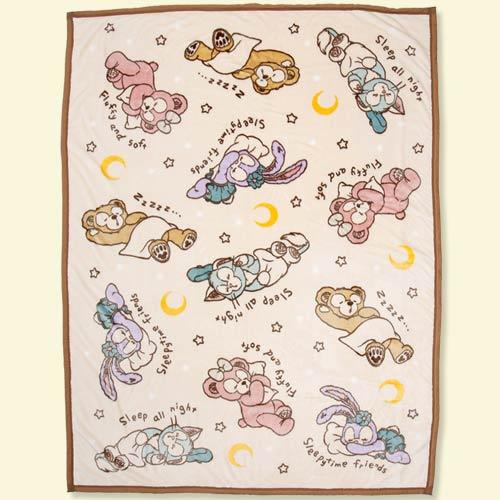 TDR - Blanket x Sleeping Duffy & Friends