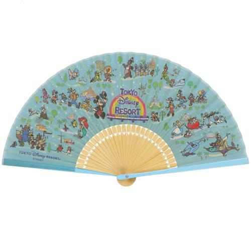 "TDR - ""Tokyo Disney Resort 2021"" Collection - Foldable Hand Fan"