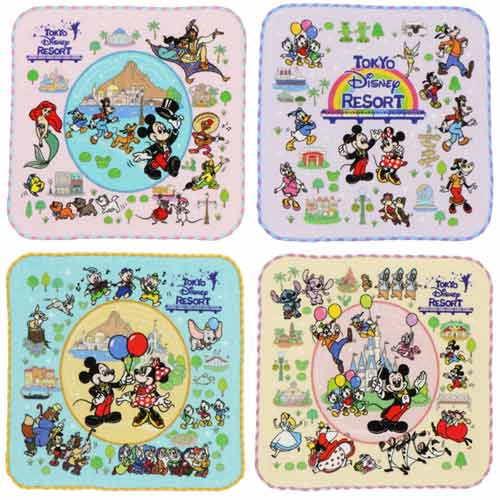 "TDR - ""Tokyo Disney Resort 2021"" Collection - Mini Towels Set"