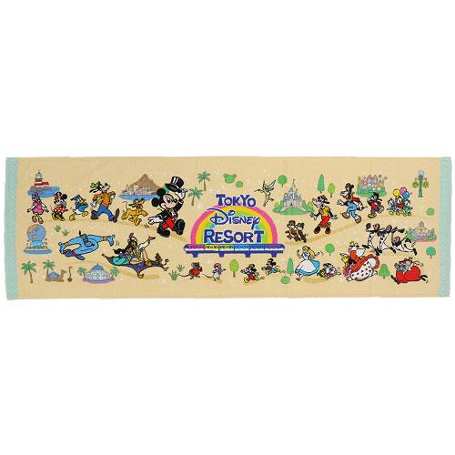 "TDR - ""Tokyo Disney Resort 2021"" Collection - Long Face Towel"