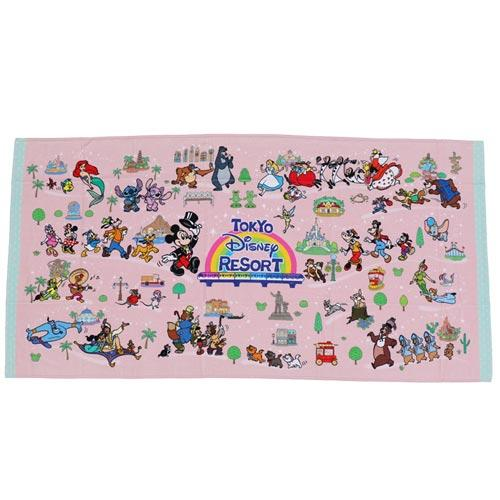 "TDR - ""Tokyo Disney Resort 2021"" Collection - Bath Towel"