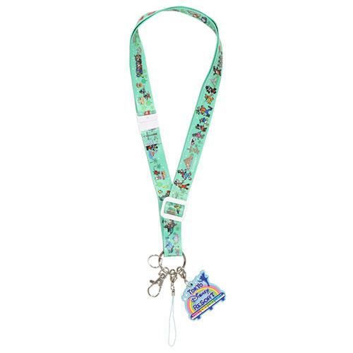 "TDR - ""Tokyo Disney Resort 2021"" Collection - Neck Strap"