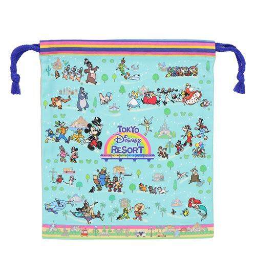 "TDR - ""Tokyo Disney Resort 2021"" Collection - Drawstring Bag"