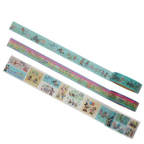 "TDR - ""Tokyo Disney Resort 2021"" Collection - Masking Tapes Set"
