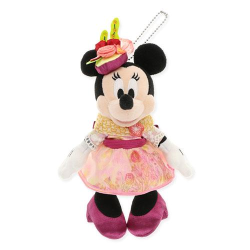 "TDR - ""Minnie's Style Studio March 2"" Collection - Minnie Mouse Plush Keychain"