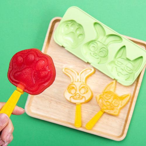 TDR - Judy Hopps & Nick Wilde at Tokyo Disney Resort Collection - Popsicle Molds Shapes
